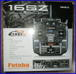 Futaba T16SZ 16+2 Channel RC Remote Control 2.4GHz Mode 2 P-T16SZ-LEU Boxed