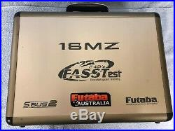 Futaba T18MZ Transmitter and Carrying Case