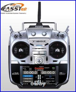 Futaba T18SZ H 2.4Ghz 18ch Transmitter + R7008SB receiver