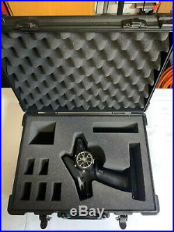 Futaba T4PX Wheel Radio with Protek Radio Case, R304SB-E Receiver, 1900 mAh Batt