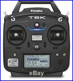 Futaba T6K V2.0 T-FHSS 2,4GHz Fernsteuerungs Set Sender Empfänger R3006SB NEU