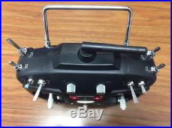 Futaba T8FGS 2.4 GHz Fasst BLACK Edition Remote / Transmitter case & charger