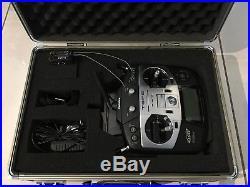 Futaba T8FG Radio Transmitter with Robbe Futaba aluminum case MINT CONDITION