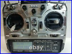 Futaba T8UAP with IRX4 Multi-Protocol 2.4 GHz 8-CH Transmitter + a 6Ch Receiver