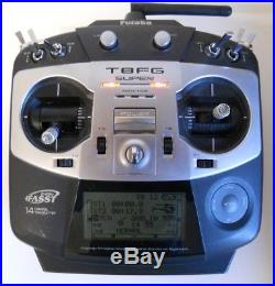 Futaba T8fg 2.4ghz Fasst 8 Channel Transmitter Good Condition