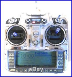 Futaba T9zap Wc2 Transmitter Mode 1 With 35mhz Module Ideal 2.4ghz Conversion
