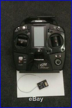 Futaba t4grs 2.4 ghz radio stick 4 canali no sanwa exzes mt xray t4 yokomo arc