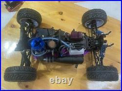 HPI Nitro MT Racer Traxxas Pro. 15 Futaba receiver beautiful classic