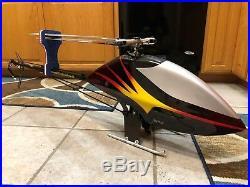 Henseleit Tdr, Rc Helicopter, Kontronik, Spektrum, Scorpion, Futaba, Beastx, Check Out