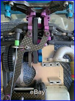 Hpi Nitro Rs4 Fully Upgraded Jr Traxxas Futaba Super Mip