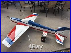 Hyde Out Pattern plane with YS140 Engine and Futaba Radio witho batteries