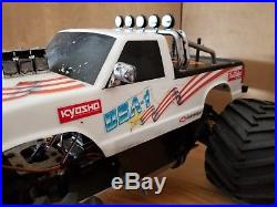 Kyosho Nitro USA 1 Monster Truck 4x4 Vintage Chevy 1/8 scale Futaba OS Chevrolet