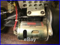 Kyosho Ultima II Vintage RC Radio Control RTR BUGGY Futaba Remote Included