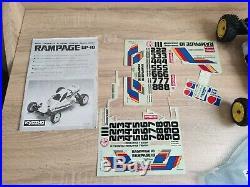 Kyosho Vintage Rampage GP-10 #3072 Futaba Radio
