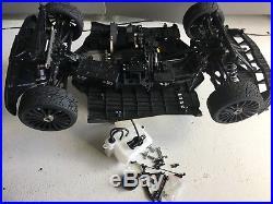MCD XS5, bajan buggy, truck 1/5 scale fit Futaba Savox Zenoah CY brushless
