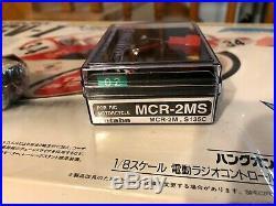 NEW 1/8 Kyosho R/C Motorcycle Suzuki RG500 with Futaba MCR-2MS
