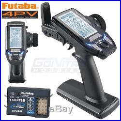 NEW Futaba 4PV 4Ch T-FHSS Computer Radio Transmitter withR304SB Receive SHIPS FREE