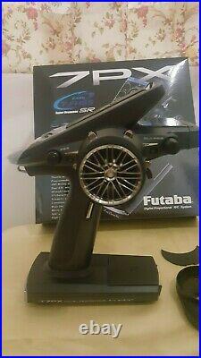 NEW Futaba 7PX 2.4GHz T-FHSS Telemetry Radio transmitter withR334SBS receiver