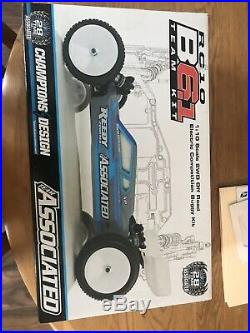 NEW Team Associated B6.1/ Futaba 2 Containers Of Spare Screws And Parts