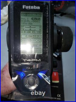 NIB-Futaba 4PM 4ch 2.4GHz T-FHSS RC Transmitter with R334SBS Receiver