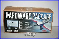 NIB NEW ARF Hangar 9 Sukhoi 1/3 Scale RC AIRPLANE & Futaba 14 piece Hardware Kit
