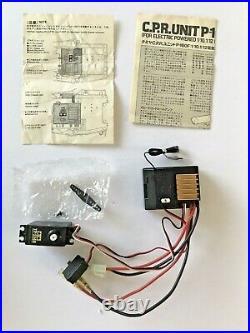 NIB Vintage Tamiya C. P. R. /CPR P-160F + Used ADSPEC Transmitter both 27.175 MHz