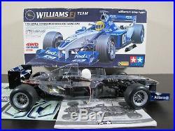 New Built Tamiya 1/10 RC Williams BMW FW24 F1 Team F201 Chassis + Futaba Servo