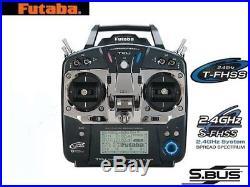 New Futaba 10J T10J (Mode 2) S/FHSS 10-Ch Transmitter + Receiver R3008SB x 1 Pcs