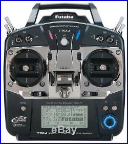 New Futaba 10J T10J (Mode 2) S/FHSS 10 Channel 2.4GHz Transmitter (No Receiver)