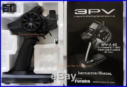 New Futaba 3PV 3 PV 3+1 Channel 2.4ghz SFHSS Radio System + R314SB Receiver x 1
