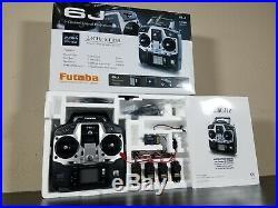 New Futaba 6J 6-Channel 2.4GHz S-FHSS R2006GS Receiver FUTK6000 4x S3004 Tamiya