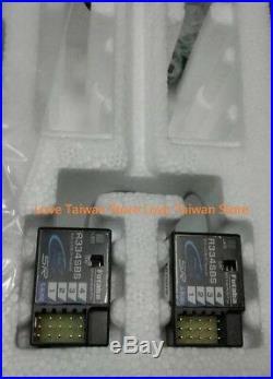New Futaba 7PX 2.4Ghz T-FHSS 7-Ch Radio System + R334SBS Receiver x 2 Pcs