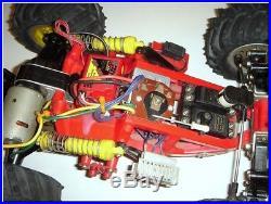 Original 1986 BLACKFOOT Monster Truck Roller withFUTABA Servos & HP-2RNB Rx