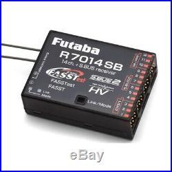 R7014SB Receiver FASST/FASSTest 2.4GHz #R7014SB (RC-WillPower) Futaba