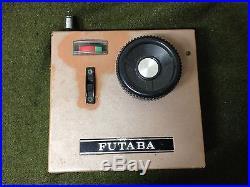 RARE! 1970'S FUTABA 2 Channel TRANSMITTER RECEIVER FP-T2F R/C RADIO CONTROL