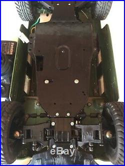 RARE Vintage 1995 Tamiya 1/12 RC Hummer 4 WD Futaba Attack Controller