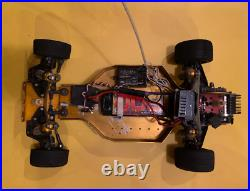 RC10 Team Associated Gold Pan buggy, Futaba controller, charger, battery. WORKS