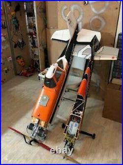 RC EDGE 540 Pilot RC 67, 20cc Dle, Futaba Servos/Receiver, Gas, Smoke Pump