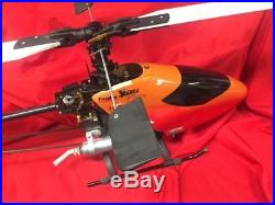 RC Helicopter X-Cell Graphite OS Max. 61SX Futaba Gyro Governor Receiver Servos