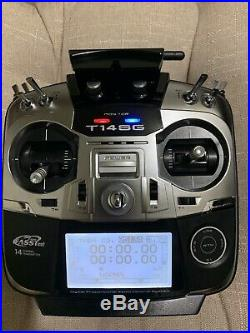 RC Transmitter Futaba T14SG 14-Channel 2.4GHz, Mode 2 Smooth Throttle