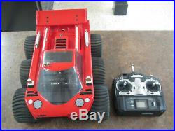 ROBBE RODEO 6X6 AMPHIBIOUS RC VEHICLE with FUTABA CONTROLLER