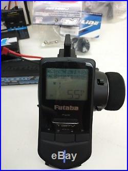 RTR Proline MT 4x4,2200KV, 4s lipo, Futaba, Hitec, Hobbywing. 1 wider hubs