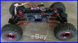 RTR Venom Creeper Rock crawler with axial xc-1 body, hitec servo, futaba Rx & tx