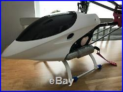 Raptor 50 SE RC Helicopter Stunning, High Spec Heli, Complete with Futaba RX etc