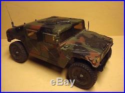 Rare Camouflage Vintage Tamiya Hummer M1025 58154 Df01 Rtr Cpr P-100f Esc Futaba