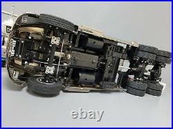 Rare Chrome Metallic Special Edition Tamiya R/C 1/14 Semi Ford Aeromax Futaba