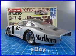 Rare Vintage Carrera 1/12 Porsche 935 Structo Tamiya Kyosho Associated Germany