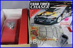 Rare Vintage New Open Box Kyosho 1/10 SuperTen Esso Tom's Toyota Chaser GasPower