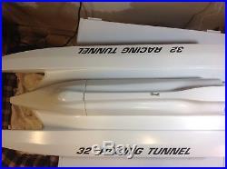 Rc Prather 32 Tunnel Hull Race Boat K&b 7.5 Rc Outboard Motor & Futaba Radio