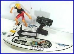 Rc Surfer Surfrider Flame Series Team Rider Female Remote Control Futaba G97